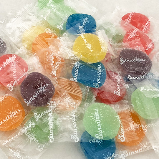 Candy - Individually wrapped.